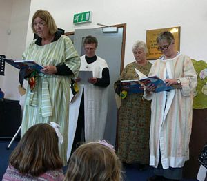 Messy church- drama